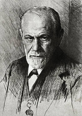 Sigmund Freud, Austrian Psychologist Poster by Humanities & Social Sciences Librarynew York Public Library