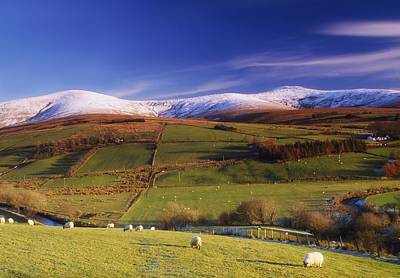 Sperrin Mountains, Co Tyrone, Ireland Poster
