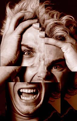 Stressed Man Poster by Victor De Schwanberg