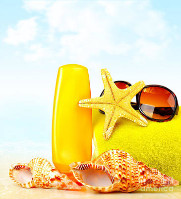 Summertime Holidays Background Poster
