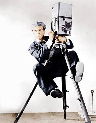 The Cameraman, Buster Keaton, 1928 Poster