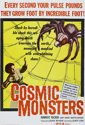 The Cosmic Monster, Aka Cosmic Poster by Everett