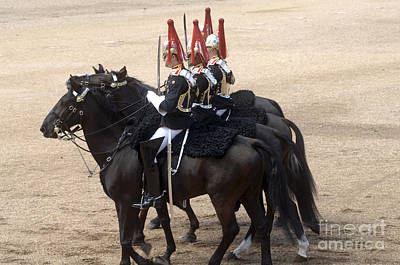 The Household Cavalry Performs Poster