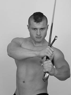 Warrior Poster by Jake Hartz