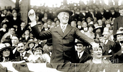 Woodrow Wilson (1856-1924) Poster