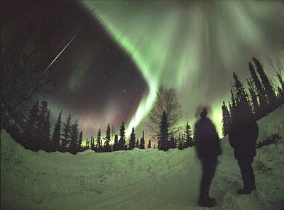 Aurora Borealis Poster by Chris Madeley