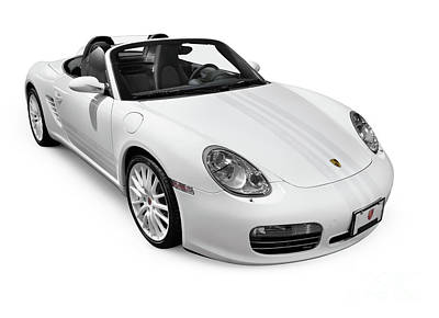 2008 Porsche Boxster S Sports Car Poster by Oleksiy Maksymenko