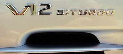 2009 Biturbo V12 Mercedes Poster
