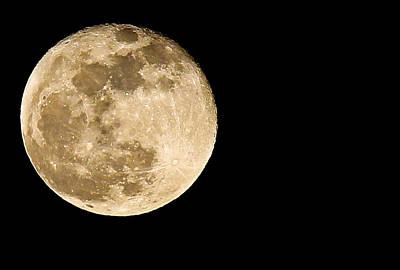 2012 Super Moon Poster