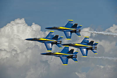 2012 U.s. Navy Blue Angels Poster