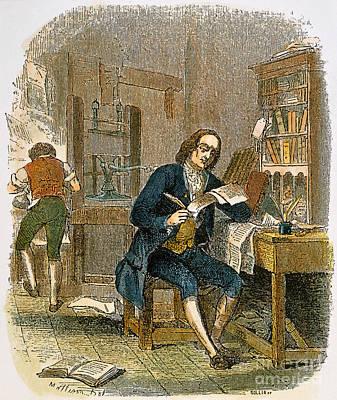Benjamin Franklin Poster by Granger