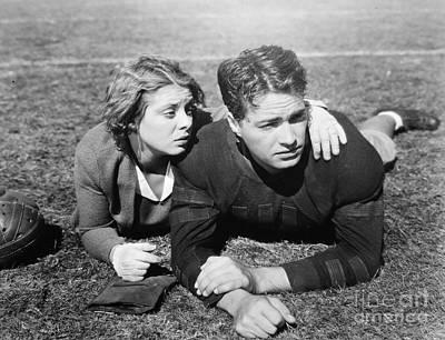 Silent Film Still: Sports Poster