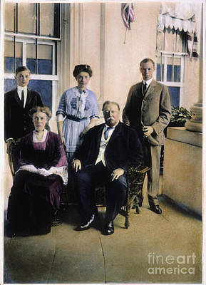 William Howard Taft Poster by Granger