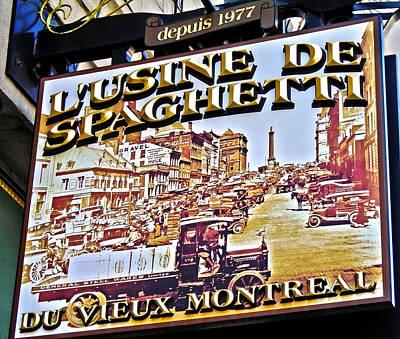 273 Rue Saint Paul Est ... Poster by Juergen Weiss