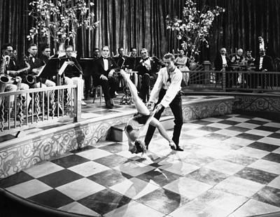 Silent Film Still: Dancing Poster