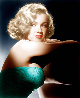 All About Eve, Marilyn Monroe, 1950 Poster
