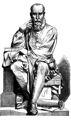 Ambroise Par�, French Surgeon Poster by Science Source
