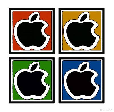 Apple Colors Poster by Rob Hans