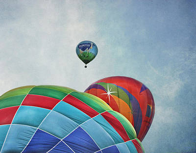 3 Balloons At Readington Poster