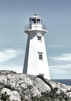 Cape Spear Lighthouse Poster by Steve Hurt