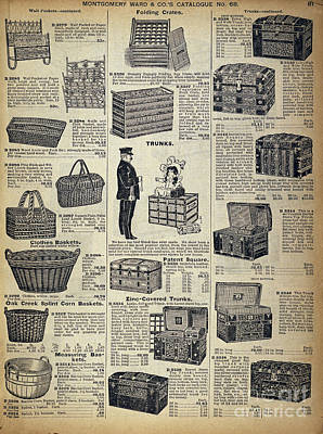 Catalog Page, C1900 Poster by Granger