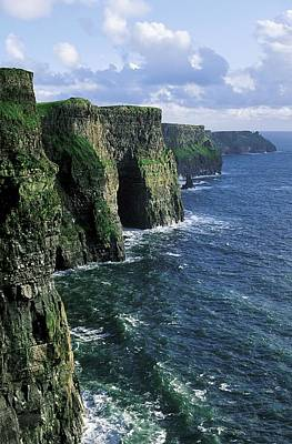 Cliffs Of Moher, Co Clare, Ireland Poster by The Irish Image Collection