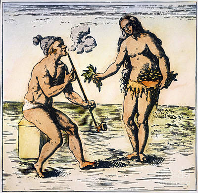 De Bry: Florida Native Americans Poster by Granger