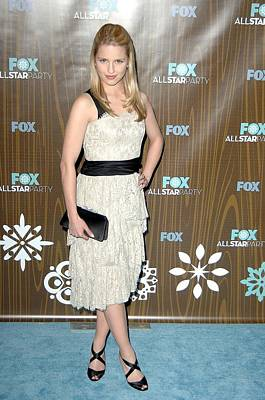 Dianna Agron At Arrivals For Fox Poster by Everett