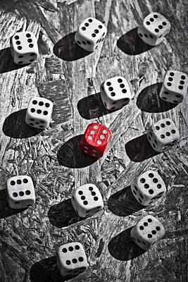 Dice Poster by Joana Kruse