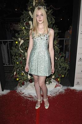 Elle Fanning At Arrivals For The Poster