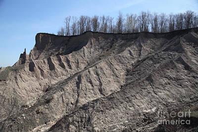 Erosion Of Glacial Drumlin Poster