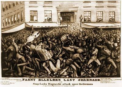 Fanny Elssler 1810-1884, Austrian Poster