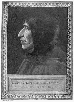 Girolamo Savonarola Poster by Granger