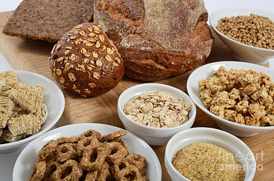 High Fiber Food Poster by Photo Researchers, Inc.