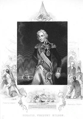 Horatio Nelson (1758-1805) Poster