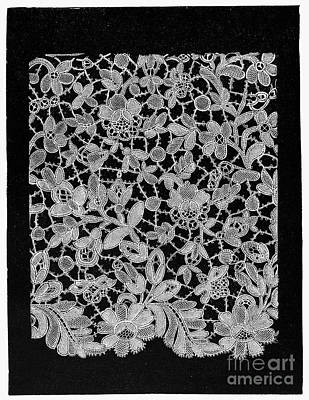 Lace, 18th Century Poster by Granger