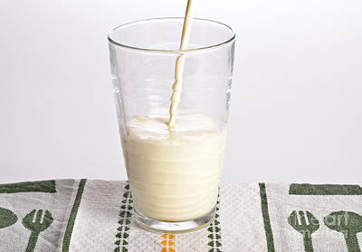Milk Poster by Photo Researchers, Inc.