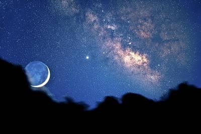 Night Sky Poster by David Nunuk