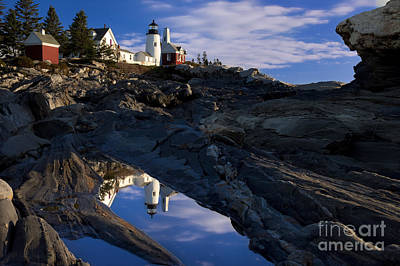 Pemaquid Point Lighthouse Poster by Brian Jannsen