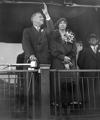 President-elect Franklin Roosevelt Poster by Everett