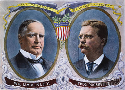 Presidential Campaign, 1900 Poster by Granger