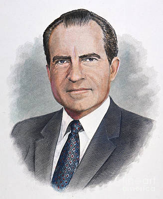 Richard Nixon (1913-1994) Poster by Granger