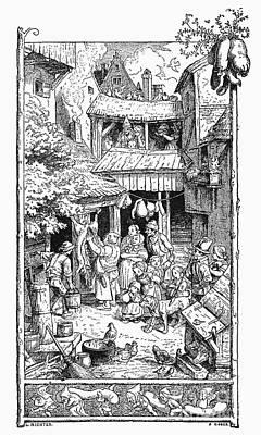 Richter Illustration Poster