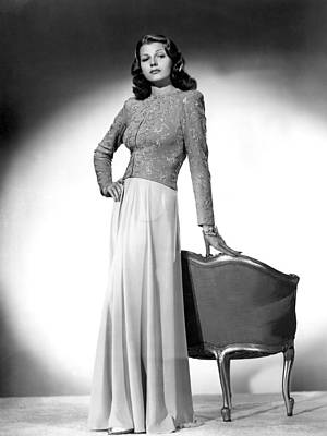Rita Hayworth, Columbia Pictures, 1940s Poster