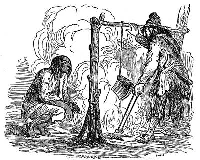 Robinson Crusoe Poster by Granger