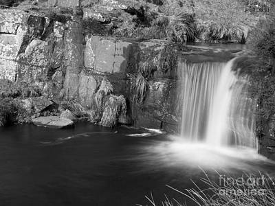3 Shires Head Waterfall Poster