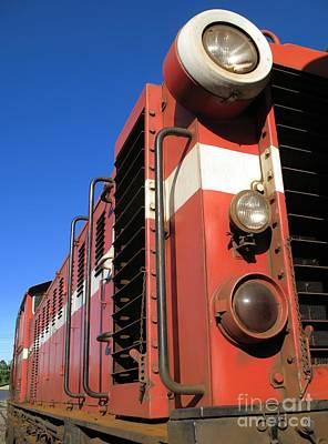 Vintage Diesel Engine Poster by Yali Shi