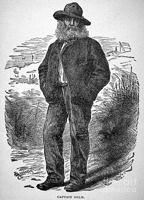 Walt Whitman (1819-1892) Poster by Granger