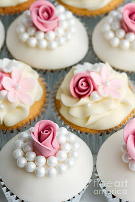 Wedding Cupcakes Poster by Ruth Black