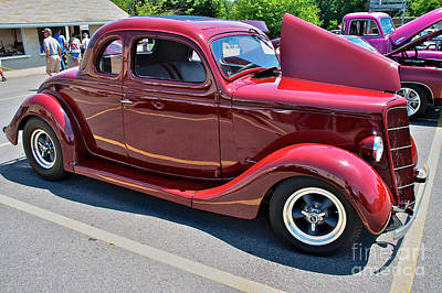 35 Ford Coupe Poster by Mark Dodd